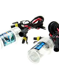 2Pcs Car H3 HID Xenon Lights Bulbs Lamps AC/DC 12V55W(4300-12000K Optional)