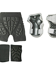 3-Piece Skiing Protective Guard Set(Hip Knee Wrist Guards)