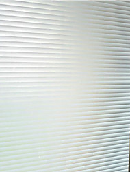 Stripe Classical Window Film,PVC/Vinyl Material Window Decoration