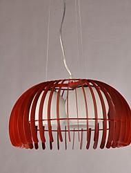 Lustre de Tecto Pendente Moderno com 3 Luzes - Abóbora