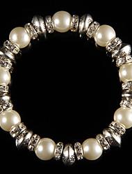 Legering Dames Chain Armbanden Parel