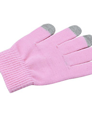 Guantes IPHONE / IPAD pantalla táctil de color rosa