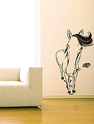 Animal Funny Horse Wall Stickers