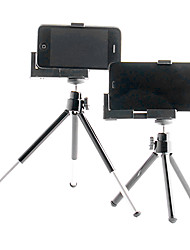 Mini Black Adjustable Retractable Tripod Stand Holder for Camera / Mobile Phone