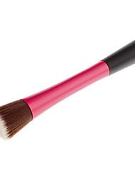 Flat Top Nylon Powder Brush (Red)