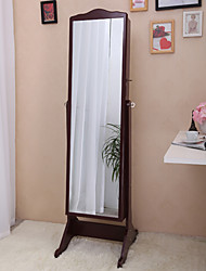"60""Jewelry Cabine Rectangle Floor Mirror"
