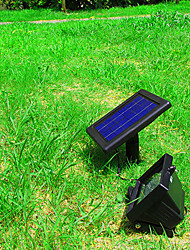 Solar Power Ultra Bright 30 LED Garden Flood Spot Light Lawn Cool White Lamp(CIS-57217)