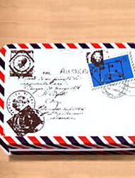 Прямоугольник шаблон конверта жестяной ящик