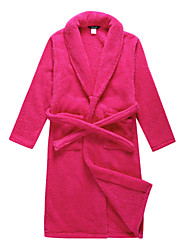 Bath Robe, Velour Rose Solid Colour Garment - 2 Size Available