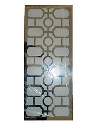 40W Wall Light moderne avec sculpté ombre d'acier inoxydable en figure géométrique style (T6 Tube Light)