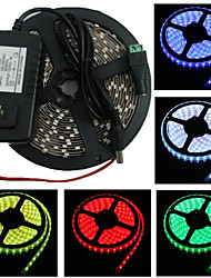 Waterproof 5M 300X3528 Smd Strip Light and Connector and Ac110-240V to Dc12V3A Au Transformer (Variety Of Colors)