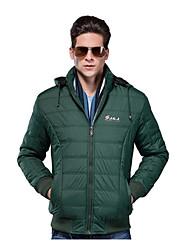 SMR Thicken Stylish Coat(Ink Green)