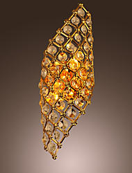 Artistic Crystal Wall Light with 2Lights