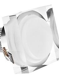 5W 5xHigh Мощность 450LM 6200K холодный белый свет светодиодный потолочный лампы - Серебряная гарантия (85-265В)
