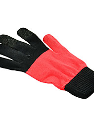 IPHONE/IPAD Screen Touch Black+Orange Gloves