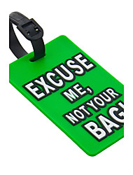 Travel Luggage Tag - EXCUSE ME,NOT YOUR BAG