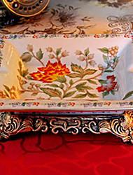 Creative Retro Hibiscus Rosa-sinensis House Ashtray