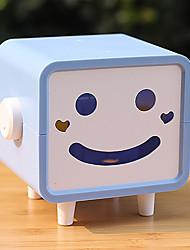 Cartoon Smiling Face Tissue Box