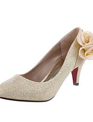 Wedding Shoes - Saltos - Saltos - Vermelho / Dourado - Feminino - Casamento