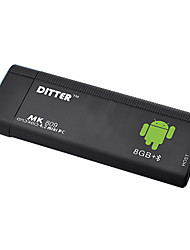 T11 Android 4.2 Duplo Mini PC Núcleo com M1 Air Mouse Teclado (1.6GHz, 8GB de RAM + ROM de 1GB, Bluetooth, Wi-Fi)
