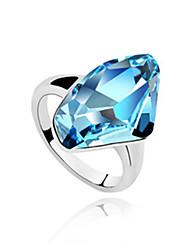 Xingzi Frauen Kristall-Ring 510