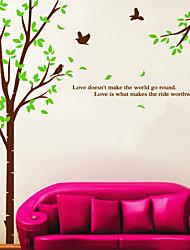 Amor romântico Birds adesivos de parede