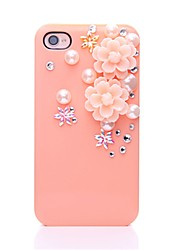 WWX Women's Resin Flower Cell phone Case For Iphone4/4S WWX0031