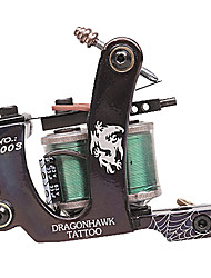 High-Quality Dual Coils 8 Wraps Tattoo Machine Gun