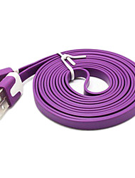 2m Noodle Appearance Design Micro USB Cable for Samsung Galaxy Note 4/S4/S3/S2 and LG/HTC/Sony/ZTE