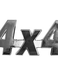 autocollant métal 4x4