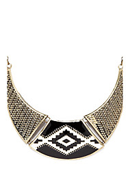 Necklace Choker Necklaces / Vintage Necklaces Jewelry Party / Daily Fashion Alloy Black 1pc Gift