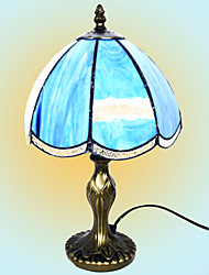 Tiffany Style Bedroom Of Europe Type Style  Desk Lamp - Blue