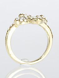 Butterfly zinc alloy Ring LTJS-JZ003