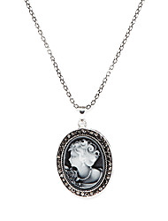 Jewelry Pendant Necklaces / Vintage Necklaces Party / Daily Alloy Women Silver Wedding Gifts