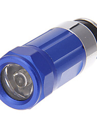 Rechargeable 2-Mode Mini Car Flashlight (Blue)