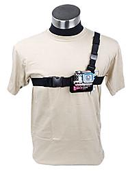 Poids léger 3 Points ceinture noire poitrine pour GoPro HD Hero 2 et 3