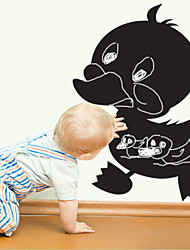 Blackboard sticker mural, amovible, noir Duckling