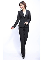 Women's Suits , Spandex Casual Loongzy