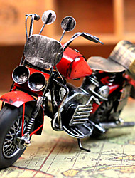 """9 """"Stile Antico Moto Tipo Red Metal da collezione"""