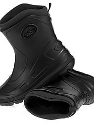 Männer schwarz Wasserdicht bis über die Wade Snow Boots