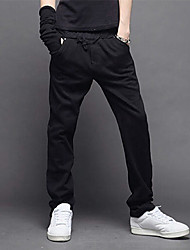Flora Casual Sports Pants(Black)