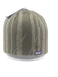 Hat Stripe duplo de malha de lã