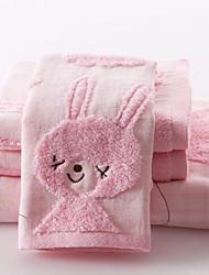Ensemble de serviettes de bain, 3 Pack de Terry 100% coton sans torsion (1 serviette de bain, 2 serviettes de toilette)
