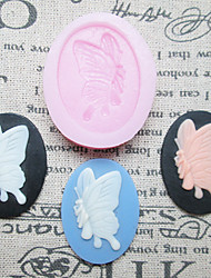 One Hole Butterfly Silicone Mold Fondant Molds Sugar Craft Tools Resin flowers Mould Molds For Cakes