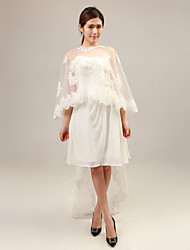 Wedding / Party/Evening Tulle / Lace Wedding  Wraps Ponchos