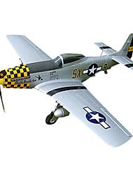 Top RC Hobby P-51D 4CH OEB RC Airplane PNP (jaune)