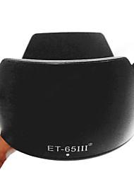 Цветок ET-65 III бленда объектива для Canon EF 85mm 100mm 135mm 100-300 70-210mm ET-65III
