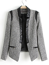 Women's New Pu Leather Jacket