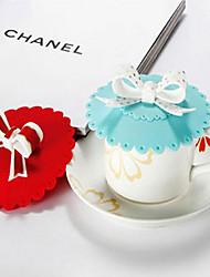 Трехмерная силиконовая герметичная крышка для чашки (Случайный Цвет)
