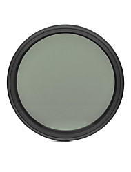 fotga® 67mm delgado ND del atenuador de filtro ajustable nd2 densidad neutra variable para ND400